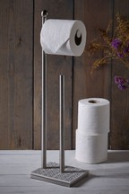 Brocante Toilet Roll Stand