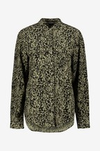 Superdry Khaki Animal Print Shirt