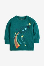 Long Sleeve Rocket T-Shirt (3mths-7yrs)