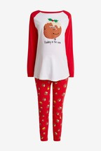 Women's Matching Family Maternity Pudding Pyjamas