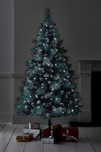 200 Bulb Frosted 6ft Christmas Tree