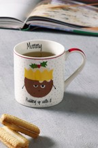Christmas Pudding Family Mug