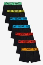 7 Pack Bright Waistband Trunks (2-16yrs)