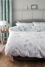 2 Pack Pretty Floral Duvet Cover and Pillowcase Set