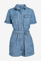 Chambray Utility Playsuit