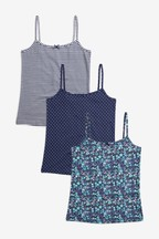 3 Pack Floral Camis (1.5-16yrs)
