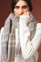 Foil Check Midweight Scarf