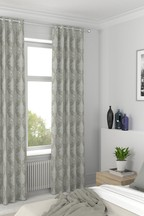 Natural Damask Made To Measure Curtains
