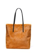 Faux Fur Shopper Bag