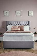 3200 Gel Mattress Divan Set By Sleepeezee