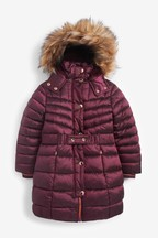 Belted Padded Coat (3-16yrs)