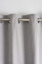 Heavyweight Chenille Shimmer Eyelet Curtains