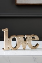 Ceramic Love Word Ornament