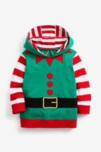 Long Sleeve Elf Hoody (3mths-10yrs)