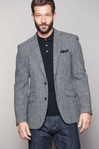 Tailored Fit Harris Tweed Signature Blazer