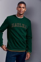 Slogan Crew Neck Sweater