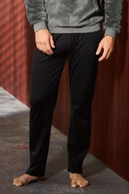 Soft Touch Interlock Long Open Hem Bottoms