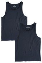 Vests Pure Cotton Two Pack