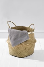 Seagrass Belly Basket