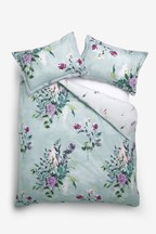 Vintage Bouquet Duvet Cover and Pillowcase Set