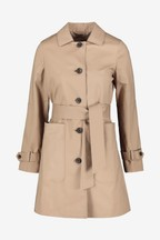 Whistles Neutral Classic Trench Coat
