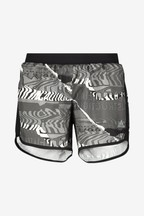 adidas M20 Black Printed Run Shorts