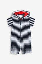 Stripe Towelling All-In-One (3mths-7yrs)