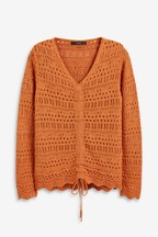 Ruche Knit Top