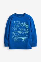 Long Sleeve Skate T-Shirt (3-16yrs)