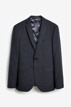 Empire Mills Check Suit: Jacket