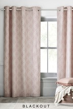 Luxe Geo Curtains