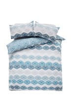 2 Pack Chevy Geo Duvet Cover And Pillowcase Set