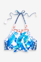 Piha Print Crop Top