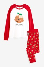 Mens Matching Family Pudding Pyjamas