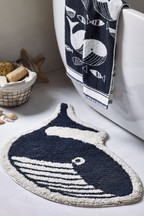 Wilson the Whale Bath Mat
