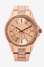 Sparkle Boyfriend Style Watch