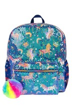 Monsoon Sequin Fun Unicorn Backpack