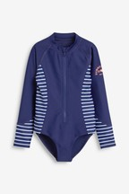 Long Sleeve Sunsafe Swimsuit (3-16yrs)