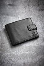 Personalised Signature Black Popper Wallet