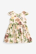 Vintage Floral Prom Dress (3mths-7yrs)