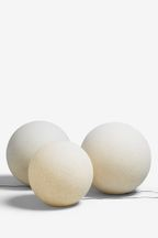 Concrete Effect Solar Sphere