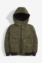 Utility Hooded Bomber Jacket (3-16yrs)