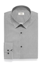 Slim Fit Cotton Stretch Pattern Shirt