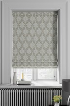 Made To Measure Natural Damask Roman Blind