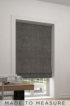 Chenille Lined Made To Measure Roman Blind