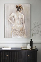 Nude Silhouette Canvas