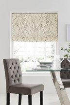 Delicate Willow Print Roman Blind