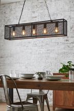 Mesh 5 Light Pendant