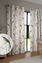 Chinoiserie Bird Trail Country Luxe Curtains