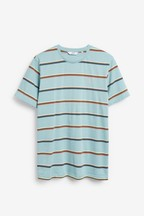 Fine Stripe Regular Fit T-Shirt